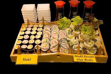 Pavillon Speisekarte Sushi Japanische Speisen Lieferservice